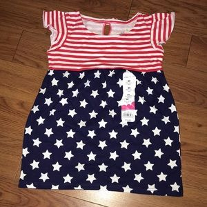 New with tags flag tunic 4T